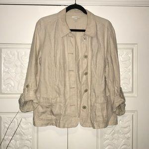 Charter Club Linen Jacket